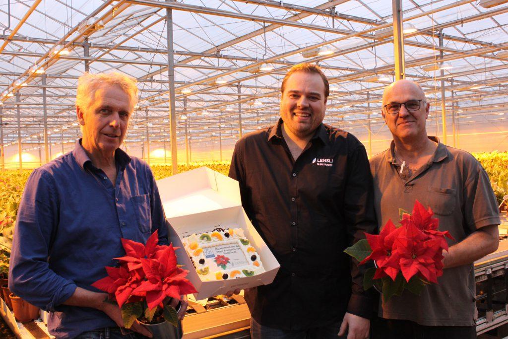 Bram Breugem kweekt beste Poinsettia