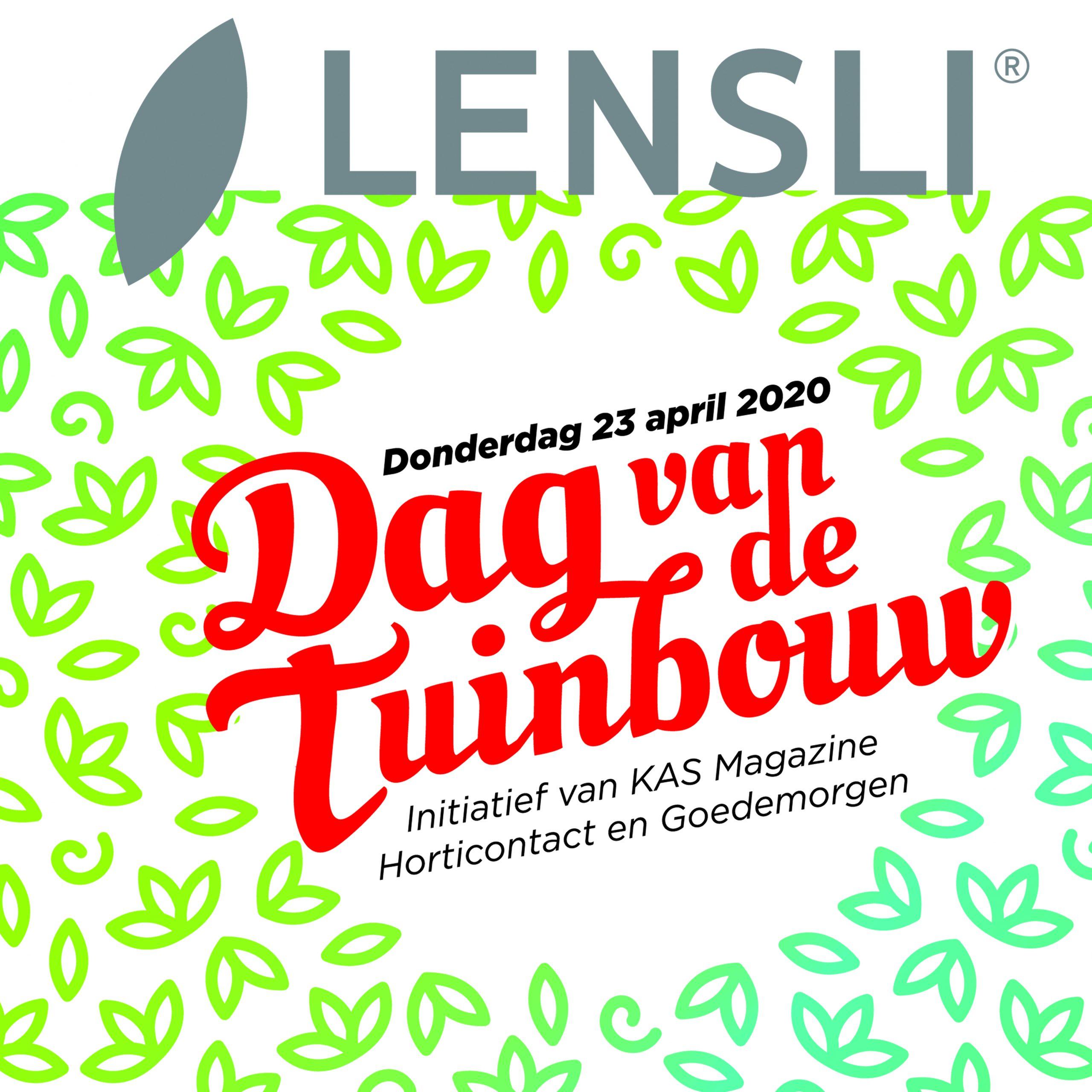 Lensli steunt de Dag van de Tuinbouw
