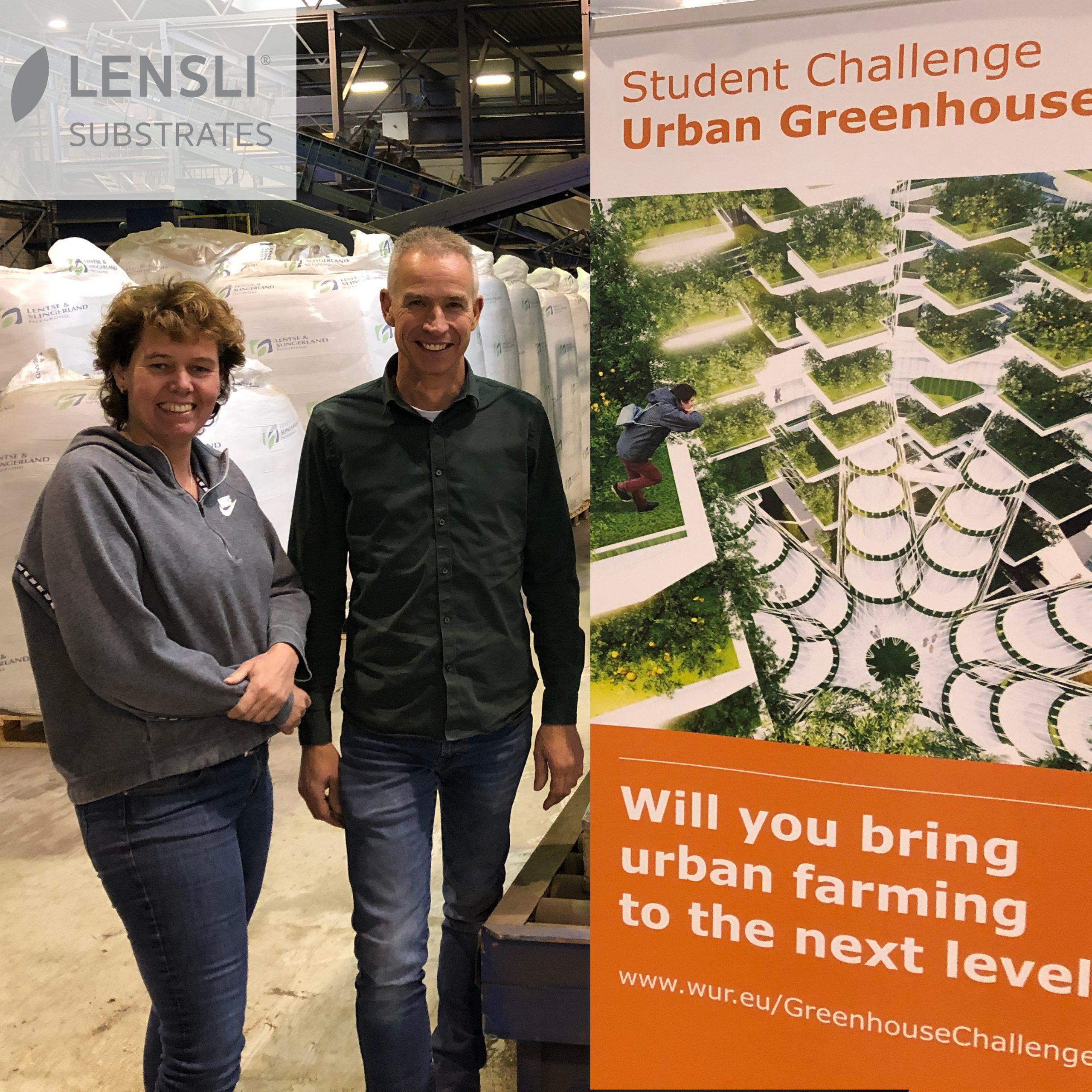 Lensli coacht WUR Urban Greenhouse Challenge